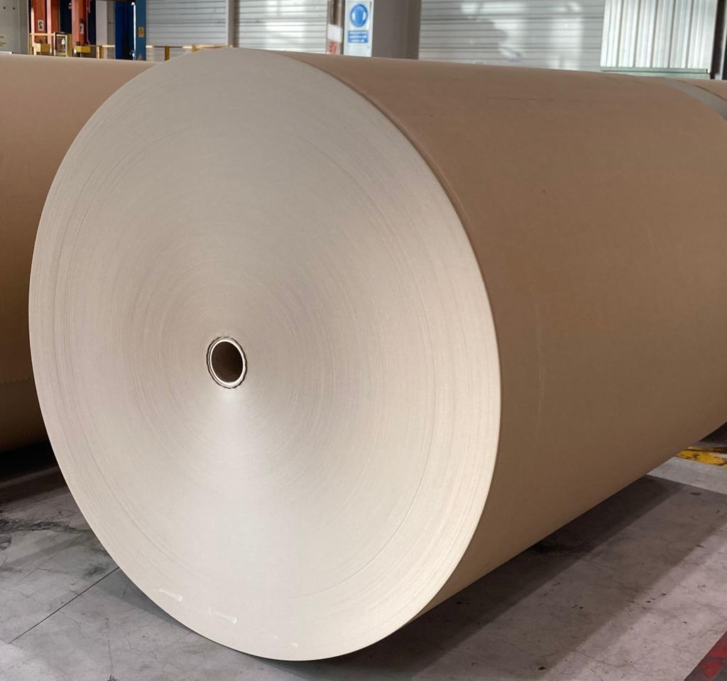 棕色的纸卷